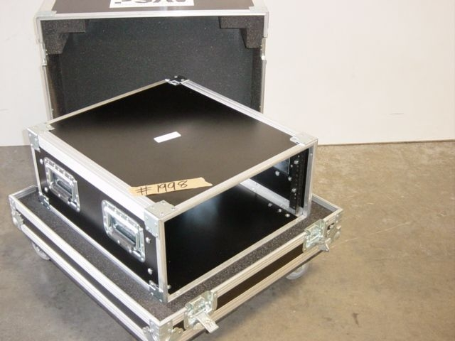 Print # 1998 - 5 Space Rack Enclosure for AirFax 1 Plus Monitor By Nelson Case Corp