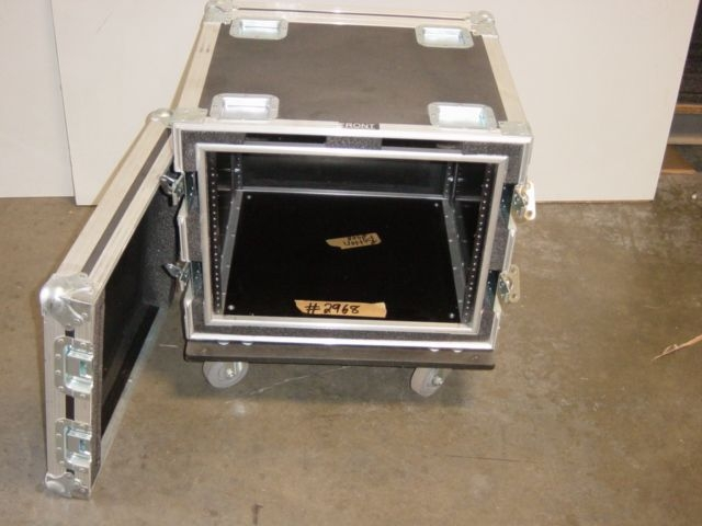 Print # 2968 - 14 Double Rack with 18 1/2 Deep (8 Space Double Rack) By Nelson Case Corp
