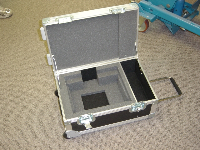 Print # 4190 - Custom case for Panasanic Lap Top CF-48 and Panasonic Projector By Nelson Case Corp
