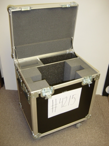Print # 4215 - Custom case for NEC LCD 2070-NX-BK and Flat Panel Mount By Nelson Case Corp