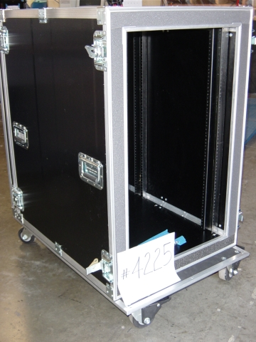 Print # 4225 - Custom case for 20 Rack Space. Double Rack with 34 Deep By Nelson Case Corp
