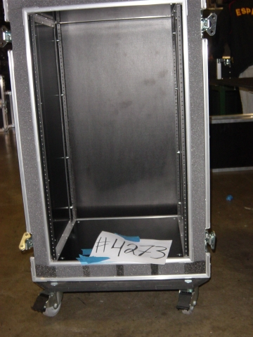 Print # 4272 - Custom 19 Space Double Rack By Nelson Case Corp