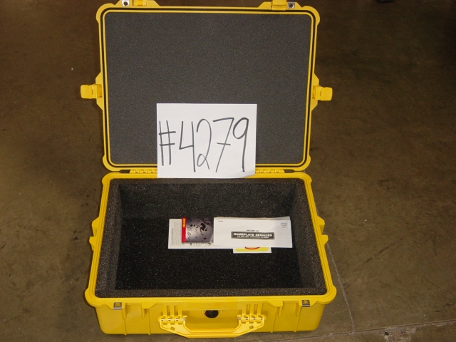 Print # 4279 - Pelican Case #1600 with 1 By Nelson Case Corp