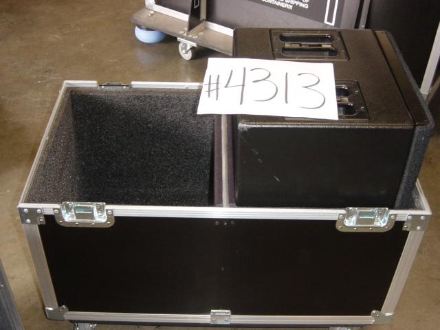 Print # 4313 - Custom case for (2) Meyer Sound UM-1P By Nelson Case Corp