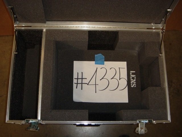 Print # 4335 - Custom case for Sanyo XP-57L Projector By Nelson Case Corp