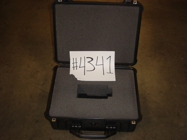 Print # 4341 - Pelican case for single LX-26/35 1.3-1.8 Lens  By Nelson Case Corp