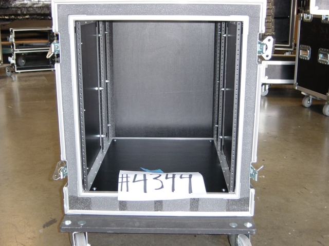 Print # 4344 - Custom case for 12 RU Amp Rack By Nelson Case Corp