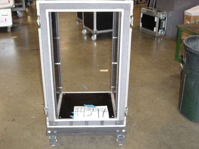 Print # 4347 - Custom case for 19 Space Double Rack 18 Base By Nelson Case Corp