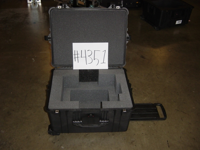 Print # 4351 - pelican case for Christie LX-34 Projector By Nelson Case Corp