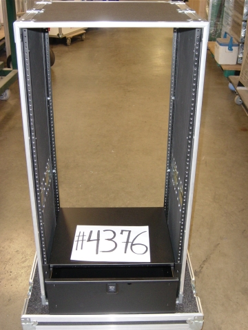 Print # 4376 - Custom Case for 22 RU Rack Enclosure with 4 RU drawer By Nelson Case Corp