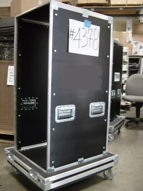 Print # 4378 - Custom case for 24 RU Rack 21 in. deep By Nelson Case Corp