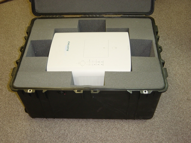 Print # 4442 - Pelican Case #1630 for Projector LX-380/350/450 By Nelson Case Corp