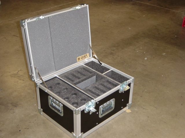 Print # 4483 - Custom case for Shure Wireless Mic Handheld/Bodypack and accessories By Nelson Case Corp