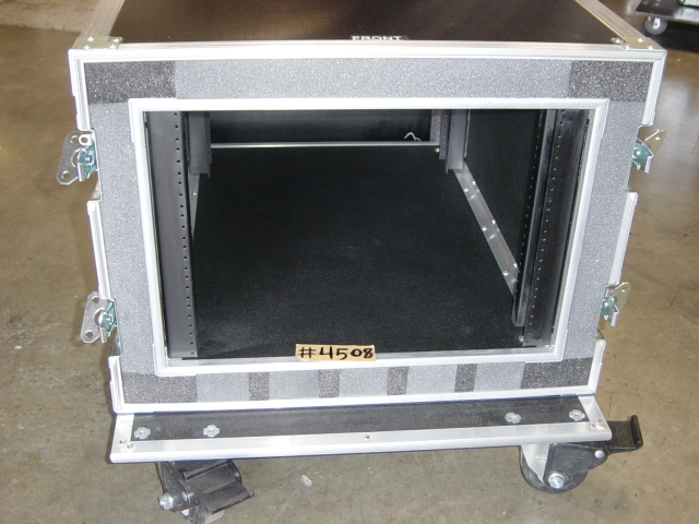 Print # 4508 - Custom case for 8 RU Double Rack By Nelson Case Corp