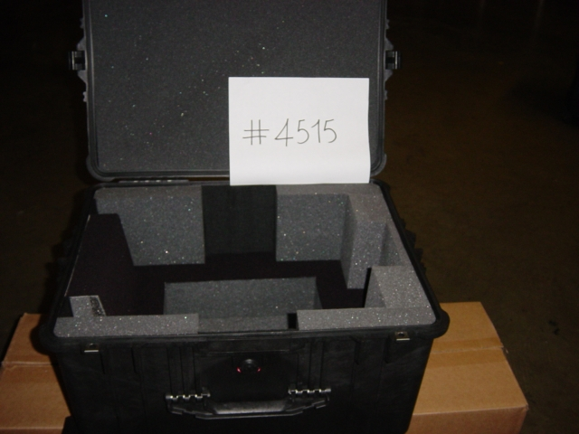 Print # 4515 - Pelican case for Christie Projector LX-380/450 By Nelson Case Corp