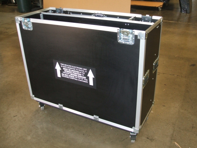 Print # 4519 - Electronic Display Lift Case for 42 Inch LCD Monitor. By Nelson Case Corp