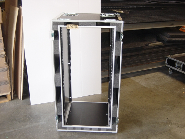 Print # 4548 - Custom case for 23 RU Engineering Rack By Nelson Case Corp
