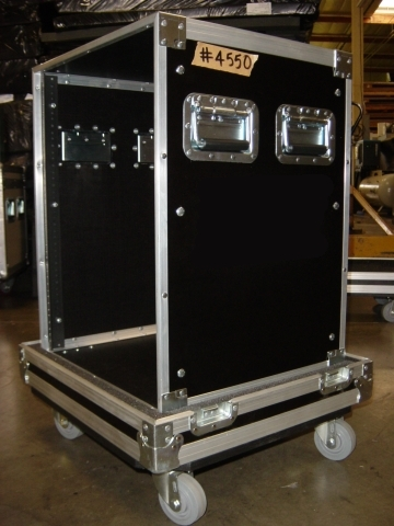 Print # 4550 - Custom case for 14 Space Rack Enclosure By Nelson Case Corp