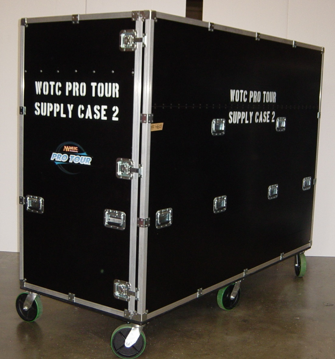 Print # 4601 - Custom WOTC Pro Tour Supply Case By Nelson Case Corp