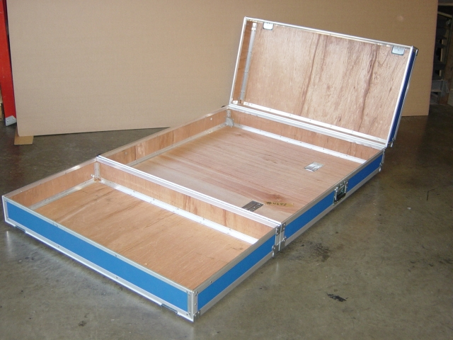 Print # 4652 - Custom case for Extron Panel By Nelson Case Corp