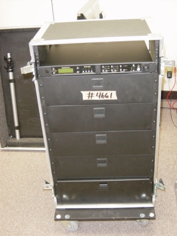 Print # 4661 - Custom case for Telex BTR 4 CH Intercom System Rack By Nelson Case Corp