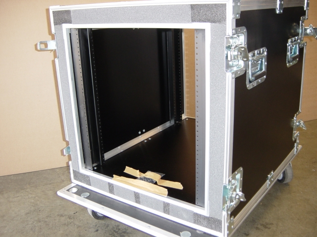 Print # 4663 - Custom case for 12 RU Double Rack By Nelson Case Corp
