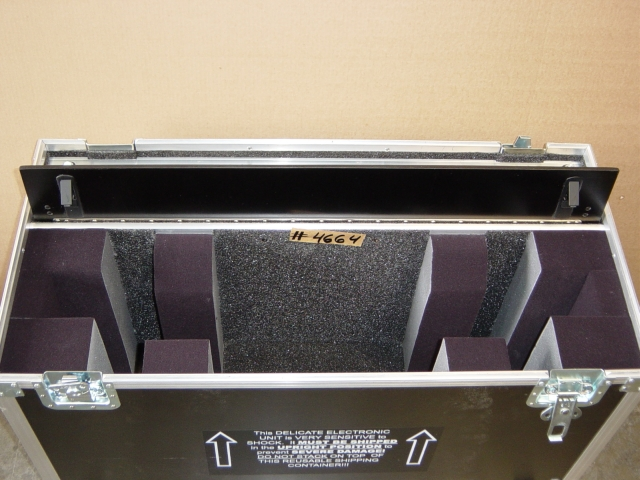 Print # 4664 - Custom case for NEC LCD3210 with Speakers and Table Top Stand attached By Nelson Case Corp