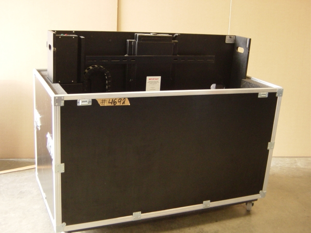 Print # 4692 - Custom case for Plasma with remote control lift By Nelson Case Corp