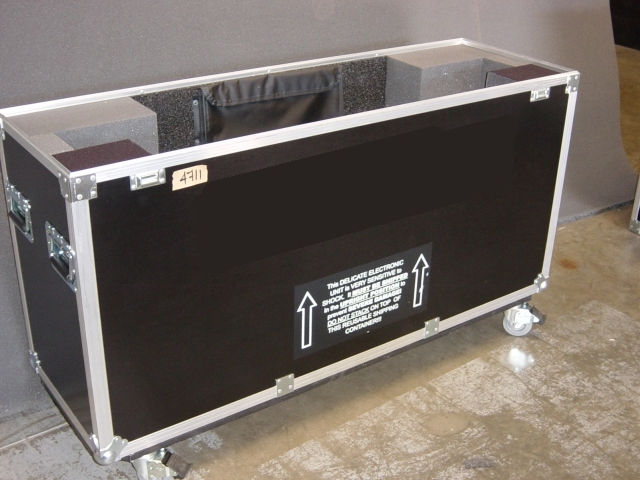 Print # 4711 - Custom case for Sony KDL 52W3000 Plasma Display. By Nelson Case Corp