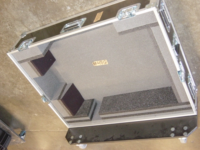 Print # 4712 - Custom case for Christie LX 1500 Projector By Nelson Case Corp