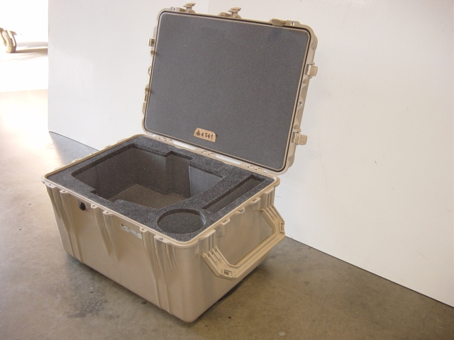 Print # 4741 - Pelican 1660 Case with custom foam insert for Christie HD405 Projector By Nelson Case Corp