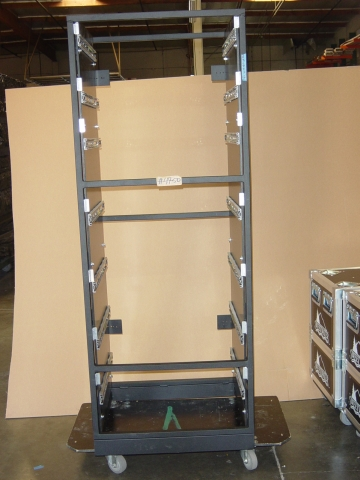 Print # 4750 - Custom Drawers for Metal Rack By Nelson Case Corp