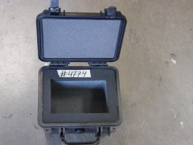 Print # 4774 - Pelican case with foam insert  By Nelson Case Corp