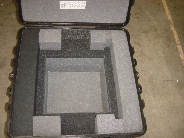 Print # 5022 - Pelican Case 1640 with custom Foam to Hold Barco LED PRO Processor By Nelson Case Corp
