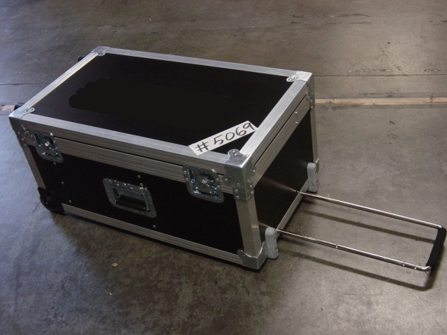 Print # 5069 - Custom Case with wheels for (2) JVC TM-A101GU Monitor By Nelson Case Corp