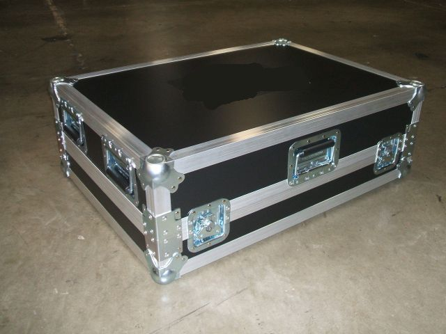 Print # 5537 - Custom case for (1) ETC ION Console with (1) ETC 2x10 Fader Wing Right Side of Unit By Nelson Case Corp