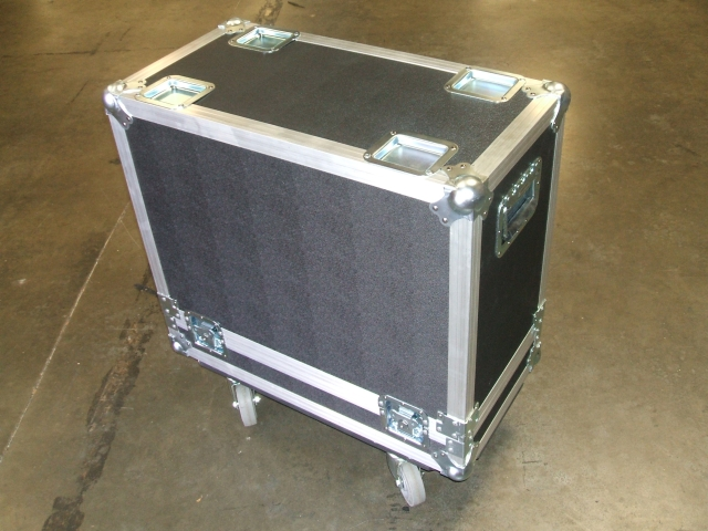 Print # 5683 - Custom Case for (1) Fender Hot Rod Devilla 212 Guitar Amplifier. By Nelson Case Corp