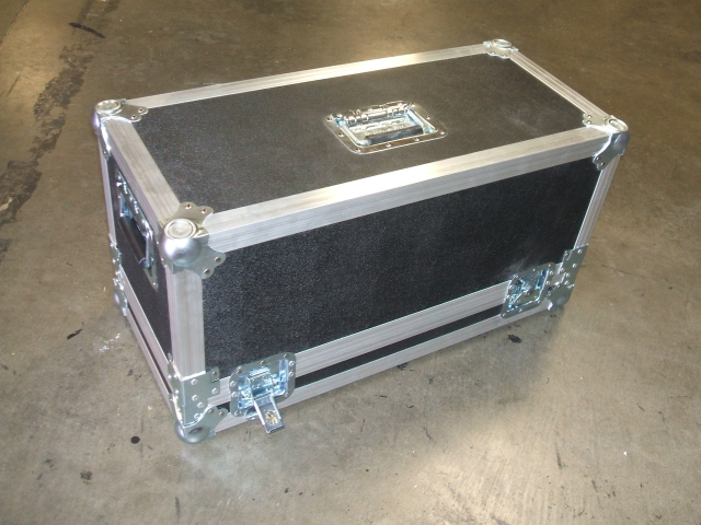 Print # 5688 - Custom Amplifier Case for (1) Mesa Boogie Dual Rectifier. By Nelson Case Corp