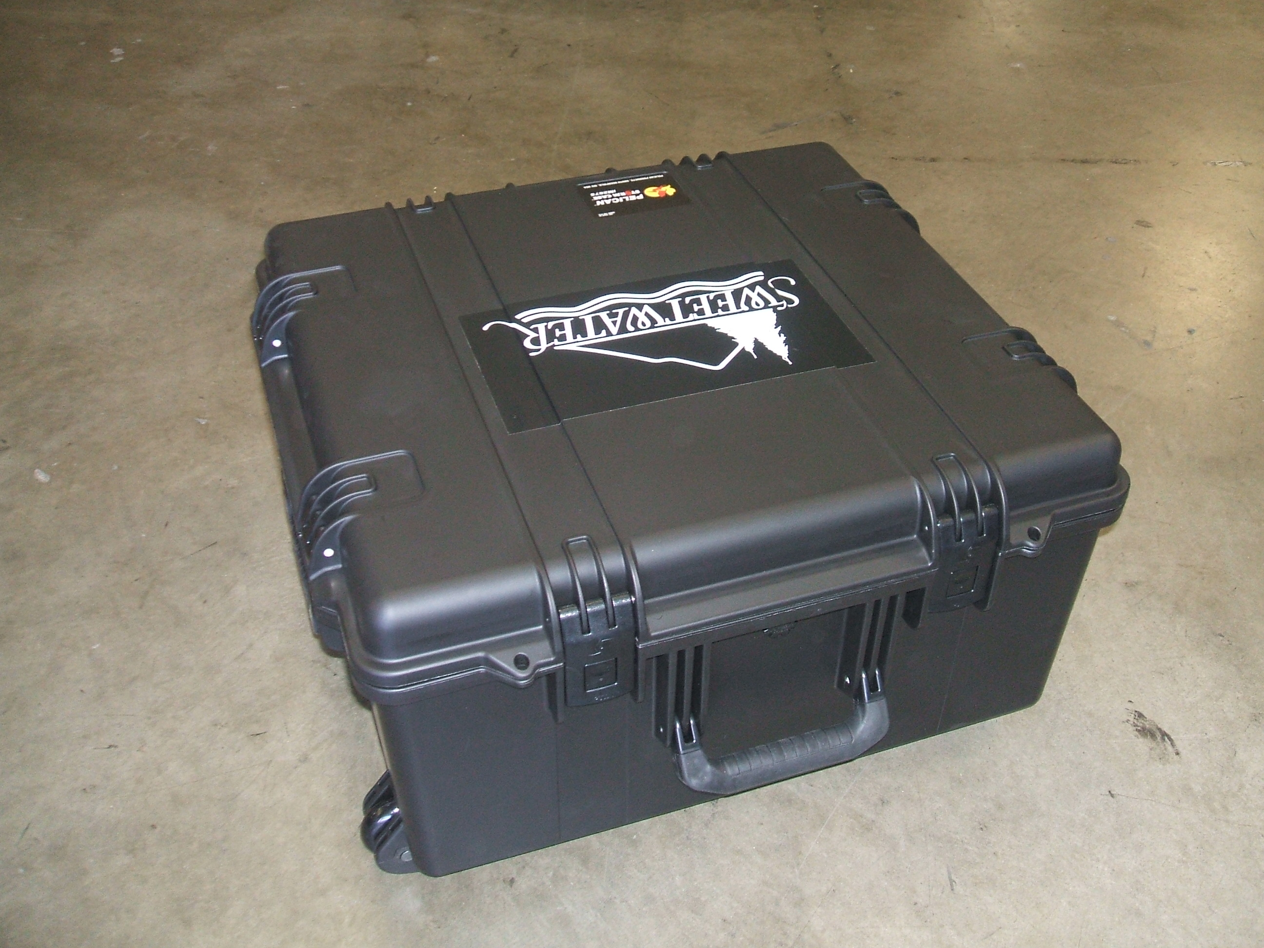 Print # 5979 - Pelican Storm Case iM2875 with Custom Foam Insert for Panasonic AV-HS410 Live Switcher By Nelson Case Corp