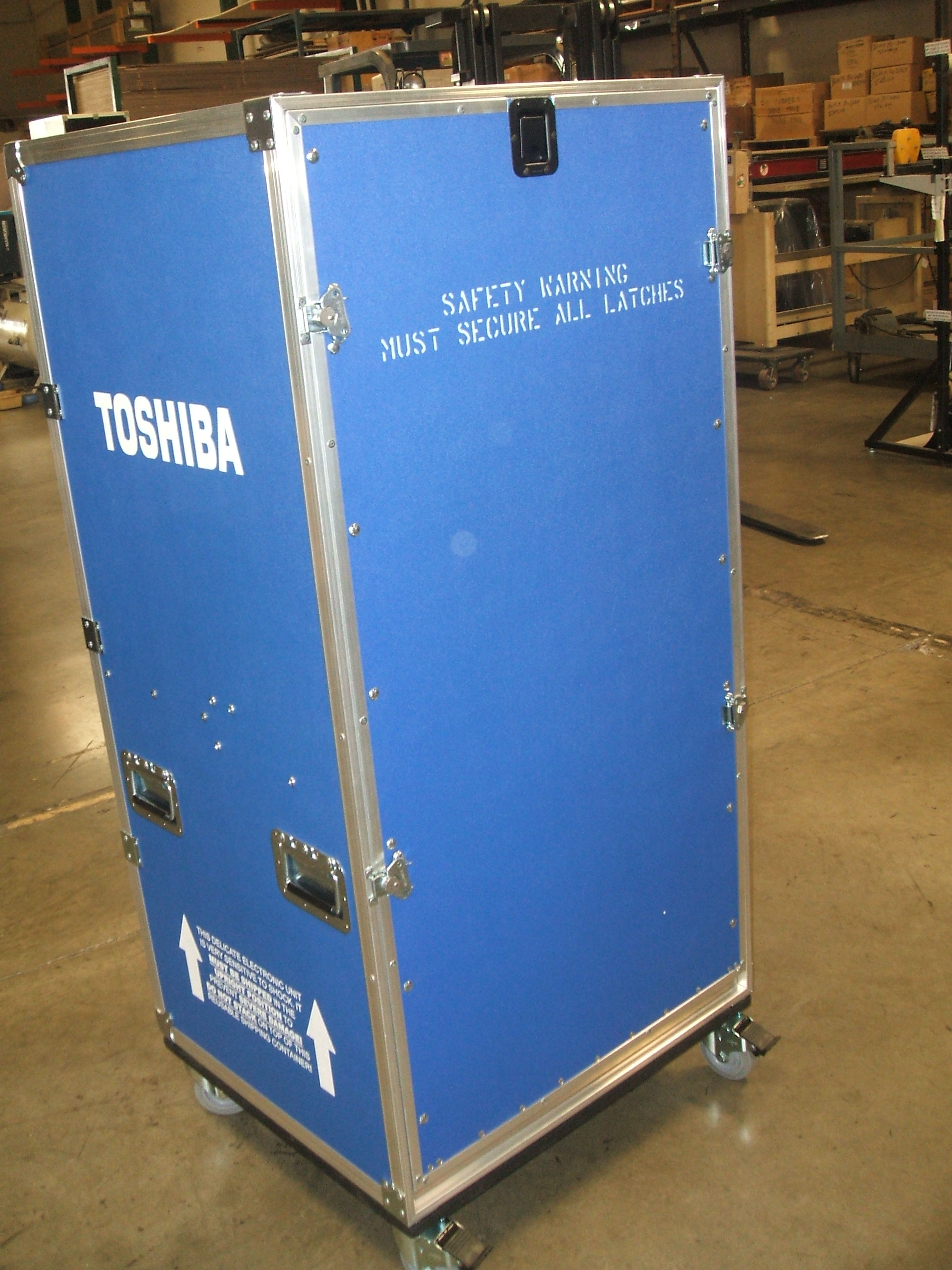 Print # 5990 - Custom Universal Case for (1) Toshiba Viamo Unit By Nelson Case Corp