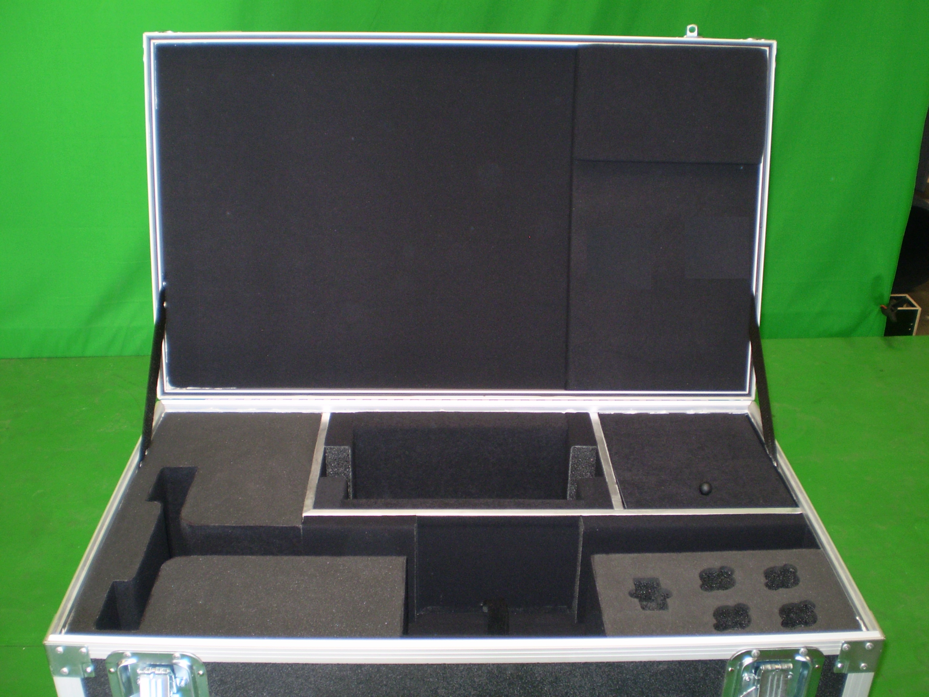 Print # 6041 - Custom Case for (1) Astell & Kern Speakers with Stands in individual Compartments By Nelson Case Corp