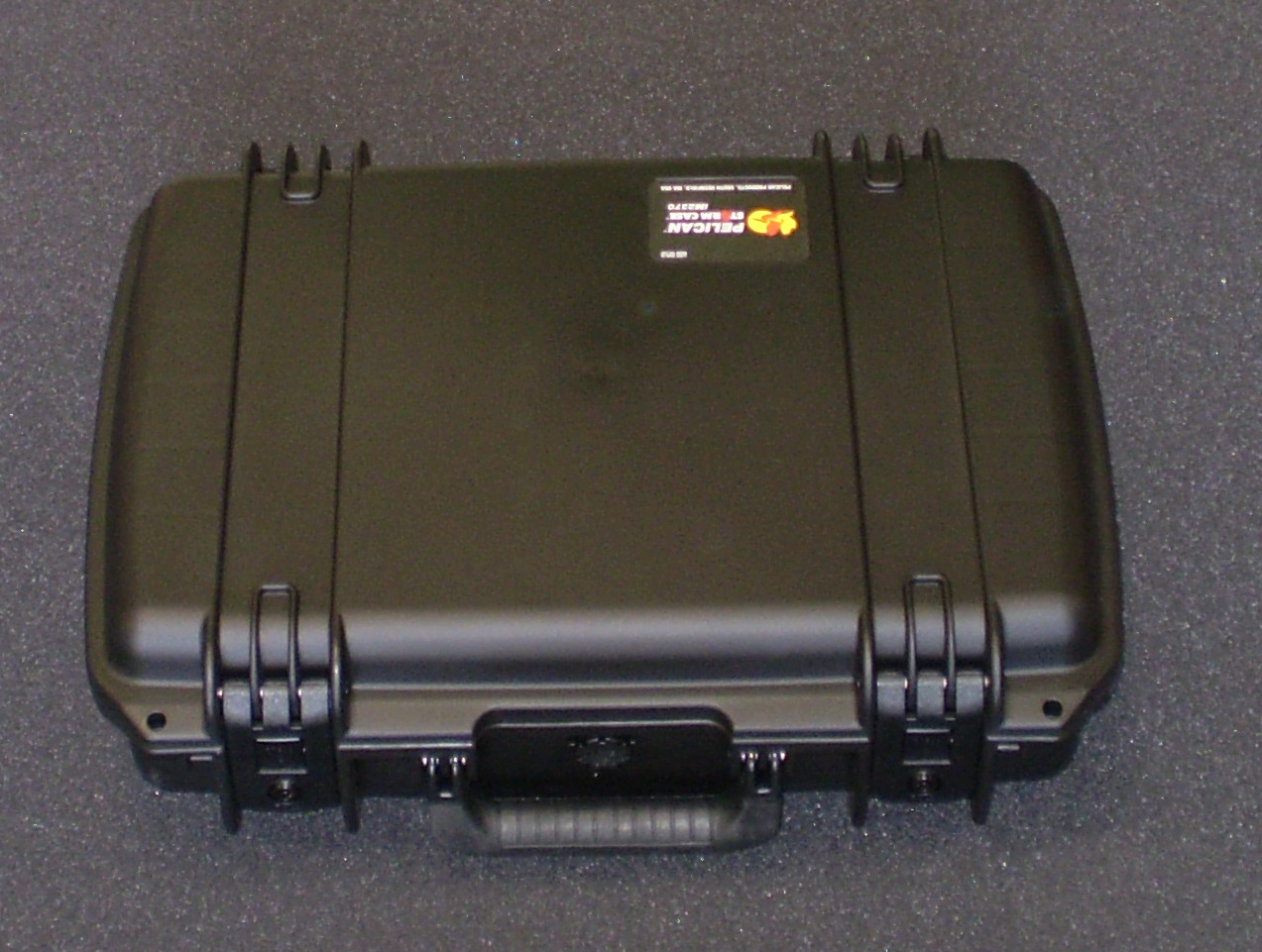 Print # 6074 - Pelican Storm iM2370 Retrofitted for 3-Pack Tascam Battery Packs with Tascam Charger By Nelson Case Corp