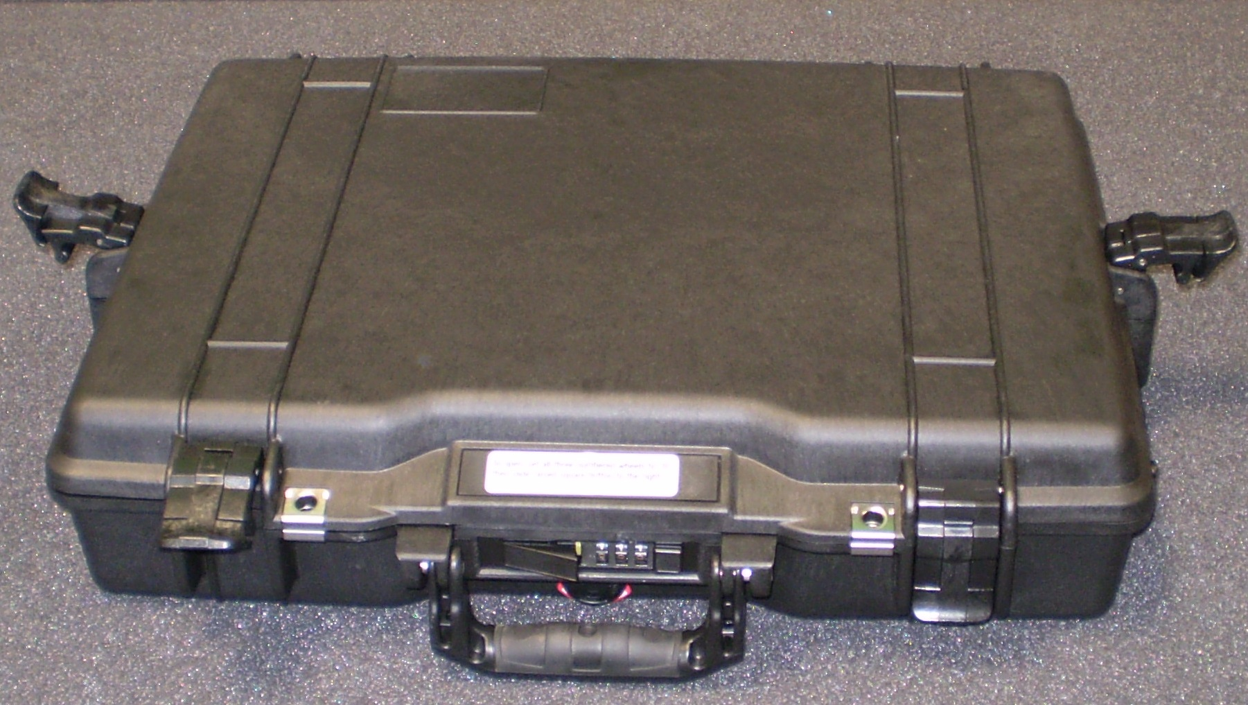 Print # 6103 - Pelican 1495 Case with Custom Foam Insert to hold (2)Circuit Boards MX-HDMI-3D-OB-A By Nelson Case Corp