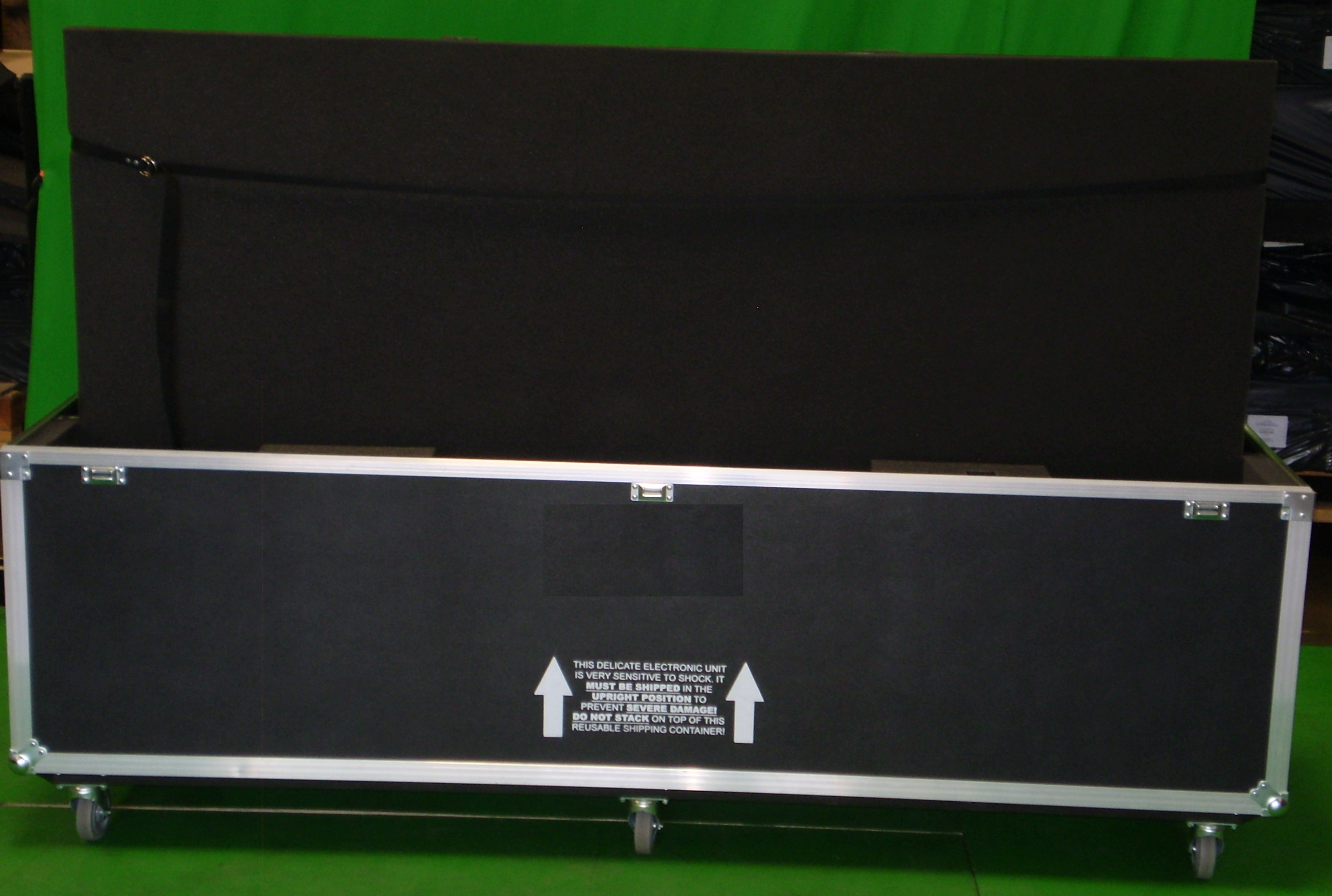 Print # 6178 - Custom Road Case for Sharp PN-R903 LED-backlit LCD Flat Panel Display Monitor By Nelson Case Corp