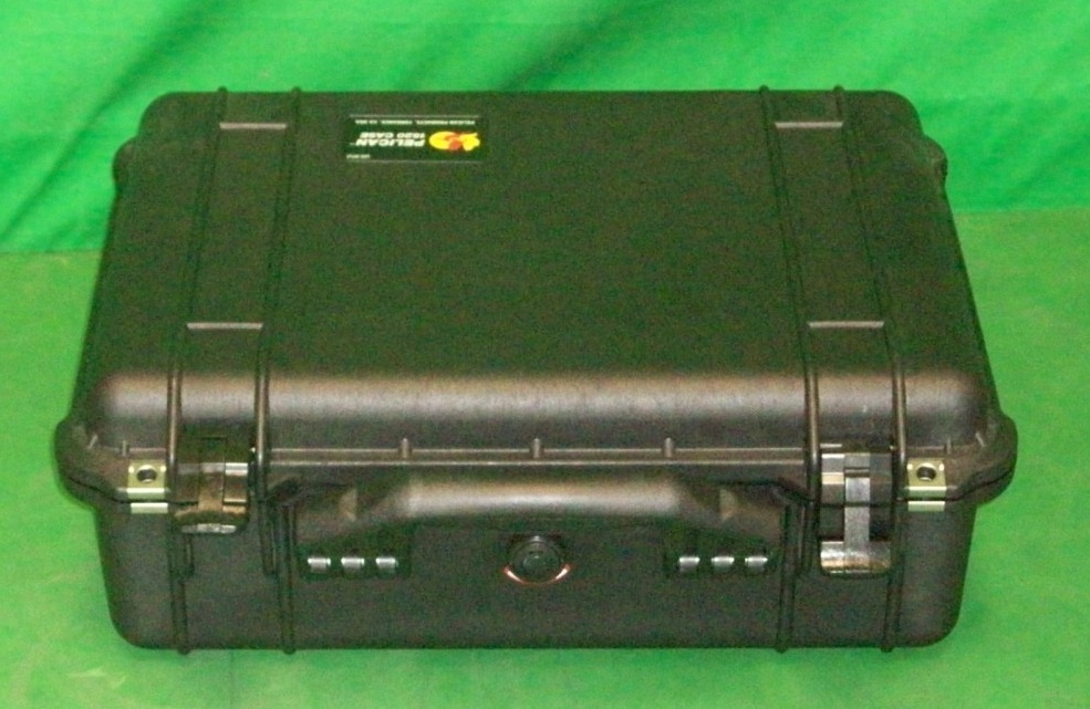 Print # 6316 - Pelican 1520 to hold (2) LX 1.8-2.4 Projector Lenses By Nelson Case Corp
