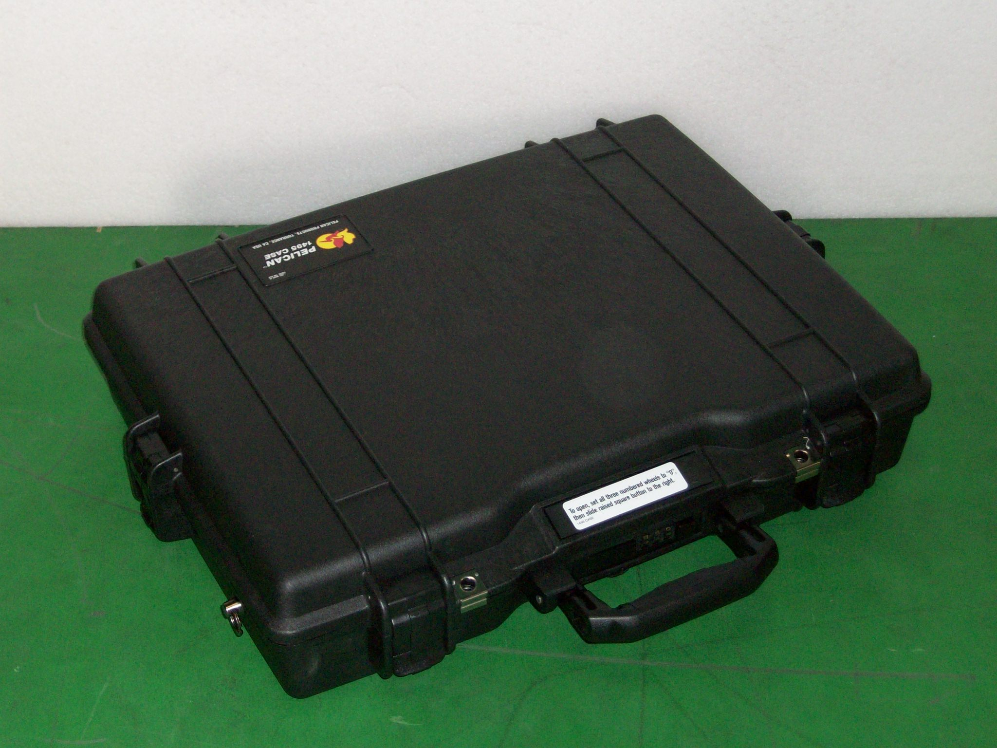 Print # 6410 - Pelican 1495 Case w/ Custom Foam Insert for (1) Shure BLX288/PG58 Wireless Vocal Combo with (2) PG58 Handheld Microphones By Nelson Case Corp