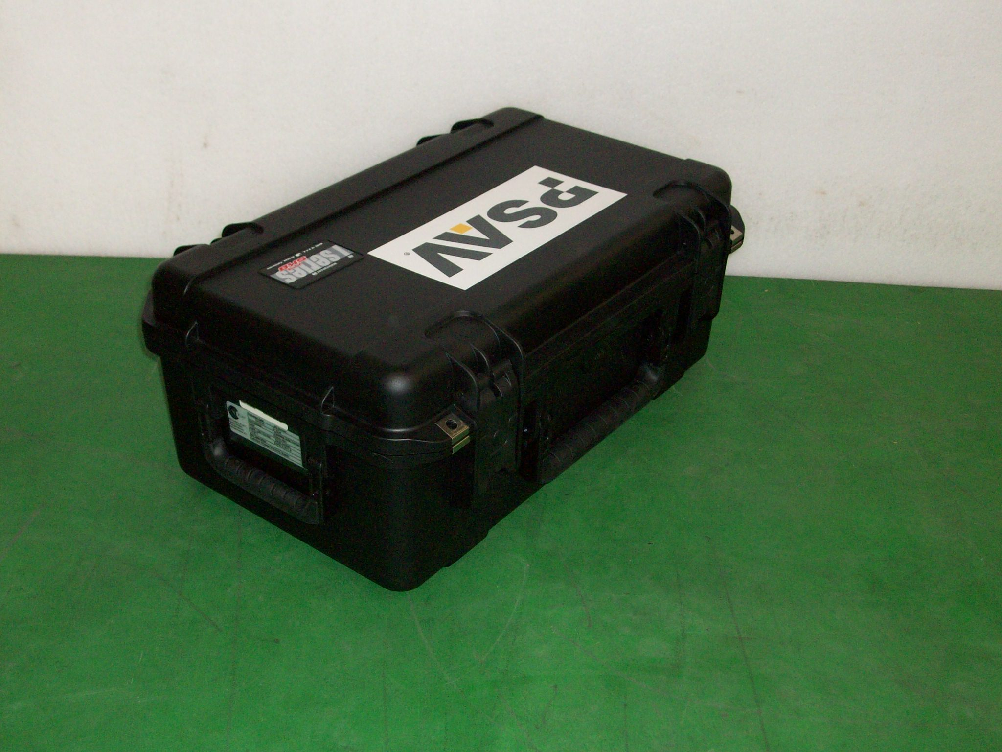 Print # 6424 - SKB 3i-2011-8 Case for Catchbox Wireless Microphone System By Nelson Case Corp
