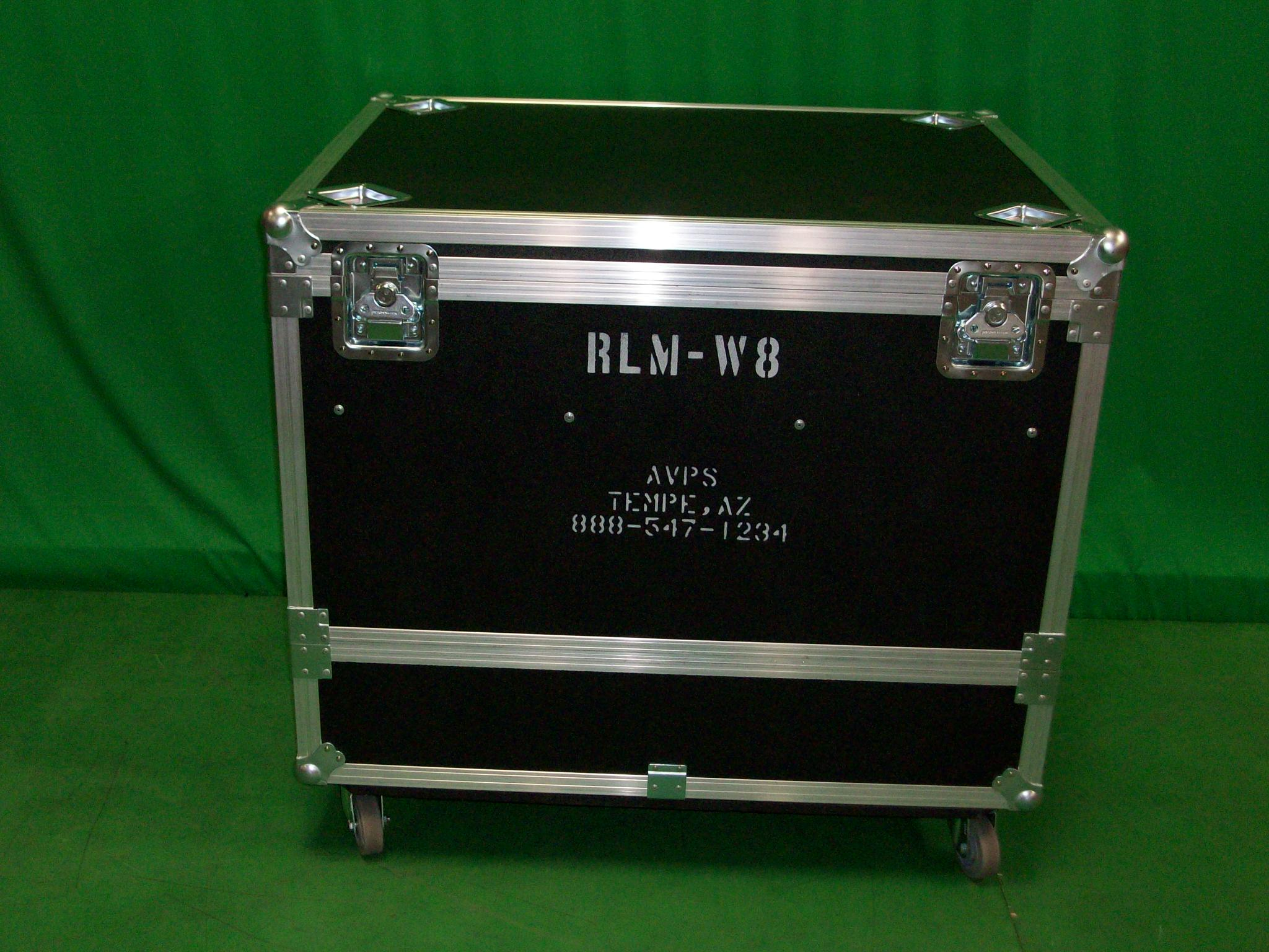 Print # 6437 - Custom Case for (1) Barco RLM Projector w/ Fly Cage By Nelson Case Corp