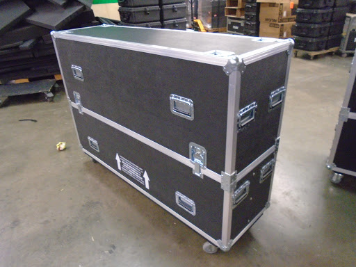 "Print # 7094 - Custom Road Case for Samsung 70"" KU6300 LED Monitor Kit By Nelson Case Corp"