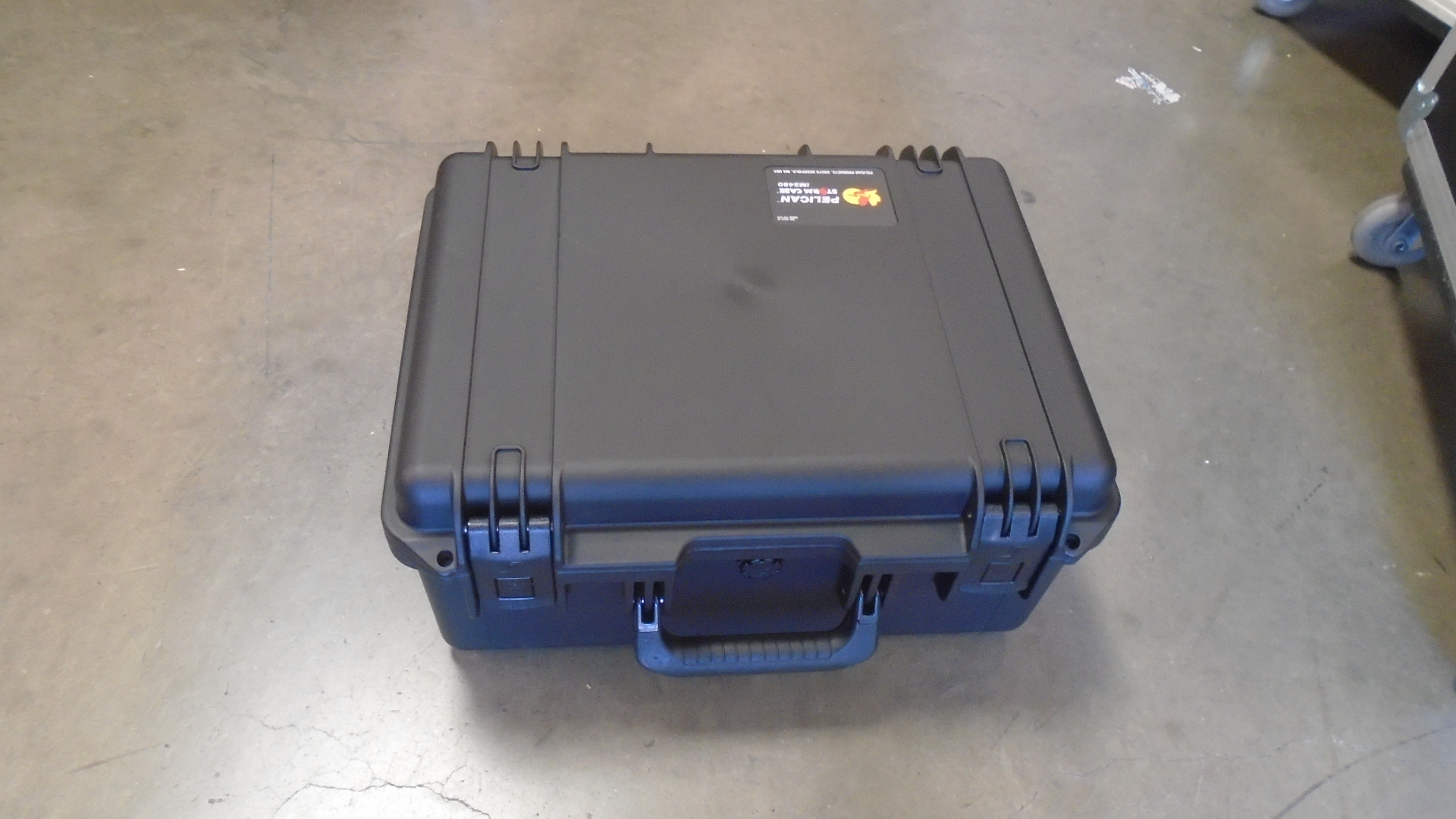 Print # 7720 - Pelican Storm iM2450 Case Retrofitted for Shut Kit G By Nelson Case Corp